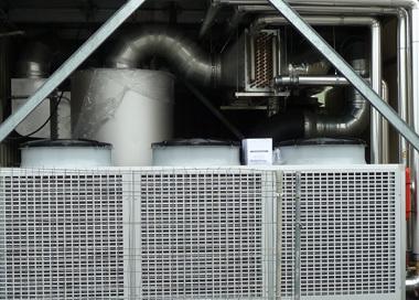 Installation d'un condenseurs-séparateurs